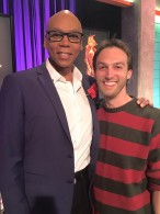 Jonathon and RuPaul